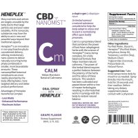 Bioactive NanoMist Oral CBD Calm Spray