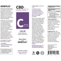 Bioactive NanoMist Oral CBD Calm Spray