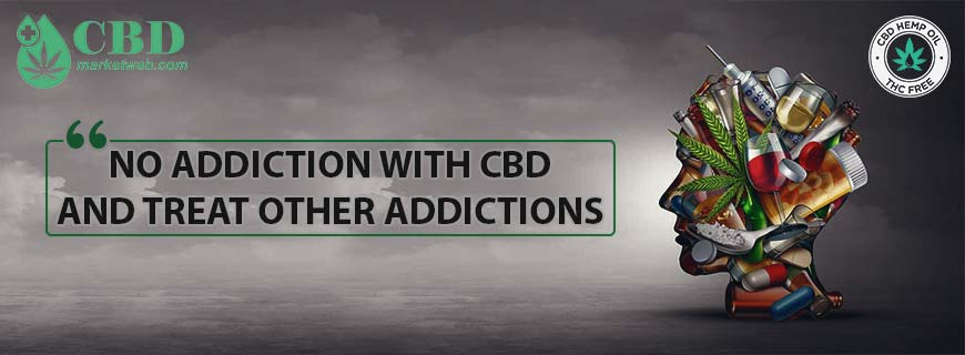 Buy CBD products online. CBD products are neither addictive, nor does it produce the so-called stoned effect that THC does.
