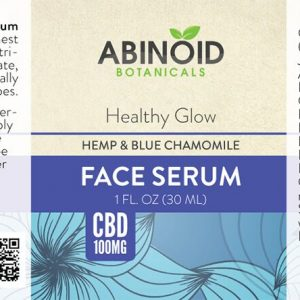 Healthy Face Serum with Hemp and Blue Chamomile
