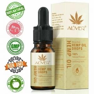 Hemp Oil Natural Extract for Relaxation, Relieve Stress, Improve Sleep Hemp 3000 mg