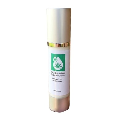 Bust booster, buttock enhancer cream with CBD