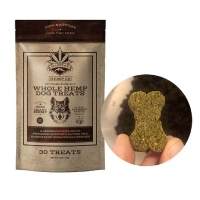 CBD Whole Hemp Dog Treats Punpkin Flavor
