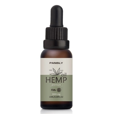 Hemp 3000mg Oil for Pain Relief, Anxiety Treatment, Help Sleep and Massage Oil