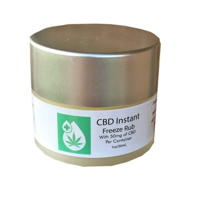 Instant Pain Relief Topical Rub CBD