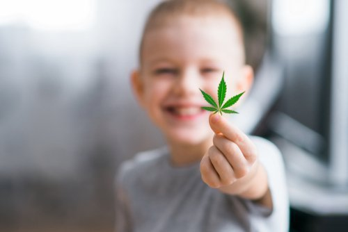 therapeutic benefit of CBD for pediatric patients