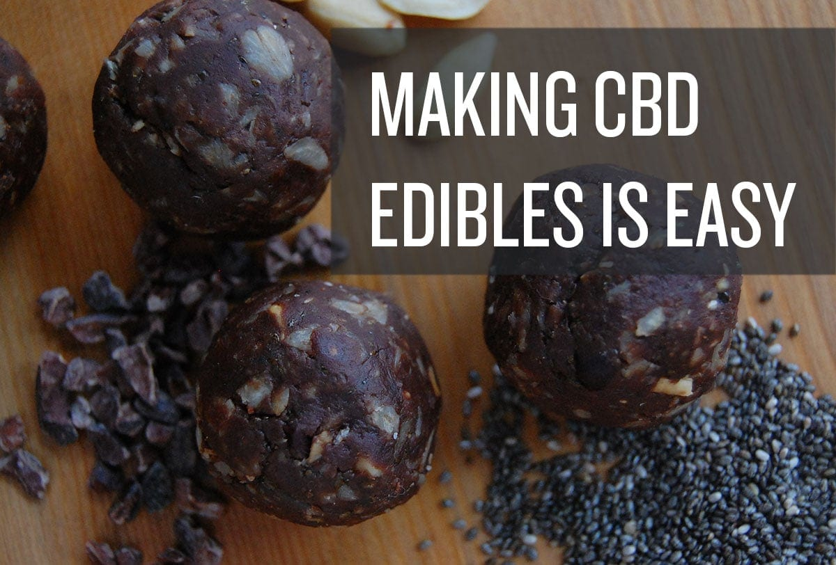 homemade cbd infused edibles